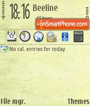 Big City v2 theme screenshot