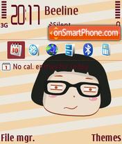 Face Di theme screenshot