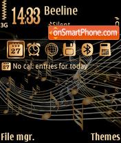 Vector music es el tema de pantalla