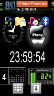Capture d'écran Animated N97 thème