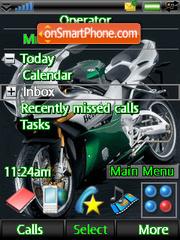 Super-bike theme screenshot