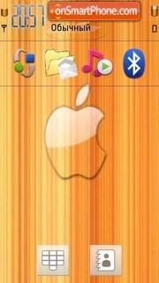 Yellow apple theme screenshot