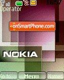 Nokia Xpress Music 07 theme screenshot