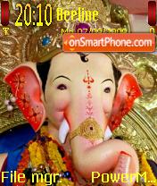 Lalbaugh Cha Raja theme screenshot