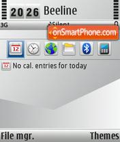 Absolute Gray 01 theme screenshot