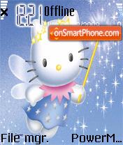 Hello Kitty es el tema de pantalla