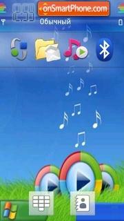 WindowsXP tema screenshot