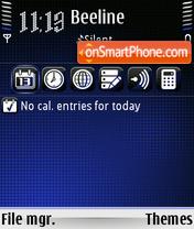 Comet 01 es el tema de pantalla