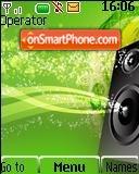 Lime Music es el tema de pantalla