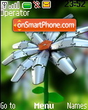 Metal Flower theme screenshot