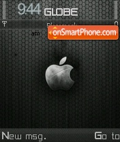 Metal Apple theme screenshot