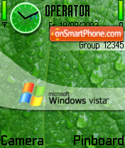 Green Vista 01 theme screenshot