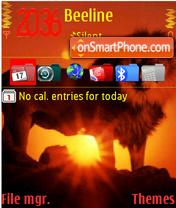 Lion 06 theme screenshot