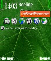 Green 03 es el tema de pantalla