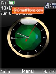 Swf animated clock es el tema de pantalla