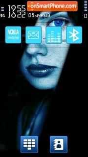 Blue Eye 01 es el tema de pantalla
