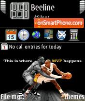 Basketball Sport es el tema de pantalla