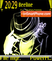Michael Jackson 15 theme screenshot