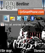 HipHop es el tema de pantalla