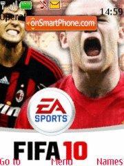 Fifa 2010 theme screenshot