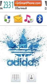 Adidas 38 theme screenshot