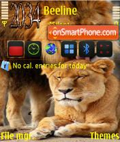 Lions 02 theme screenshot