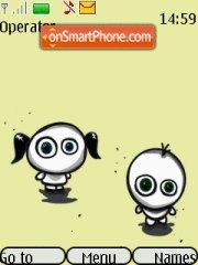 The Two People theme screenshot