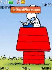 Snoopy 03 es el tema de pantalla