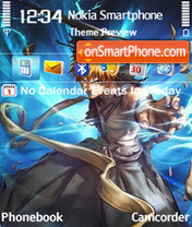 Bleach Ichigo 02 theme screenshot