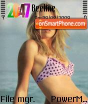 Maria Sharapova 06 theme screenshot
