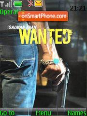 Wanted theme screenshot