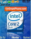 Intel Core 2 Duo theme screenshot