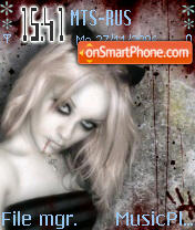 Goth Girl 2 es el tema de pantalla