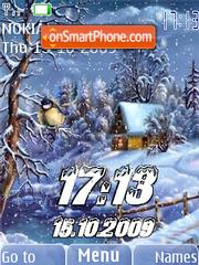 Winter swf animated es el tema de pantalla