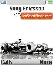Formula 1 Car es el tema de pantalla