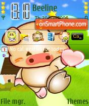 Pig Send Love es el tema de pantalla