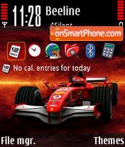 Ferrari F1 01 es el tema de pantalla