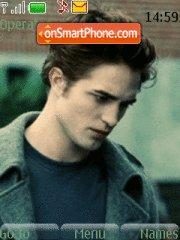 Edward from Twilight es el tema de pantalla
