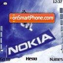SKI with NOKIA es el tema de pantalla