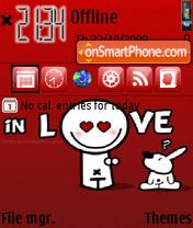 In Love 05 es el tema de pantalla