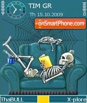 Reading theme screenshot