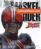 Masked Rider es el tema de pantalla