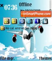 Aero for E71 es el tema de pantalla