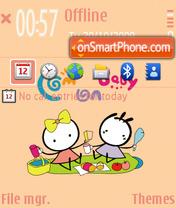 Kiki And Coco theme screenshot