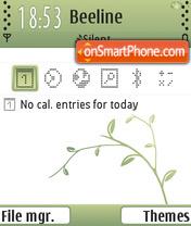 Summer Green FP1 theme screenshot