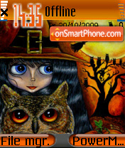 Halloween Decorations es el tema de pantalla