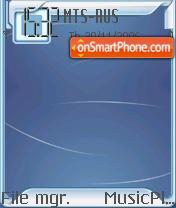 Indigo Tech Light Pack OS7 theme screenshot