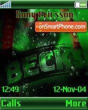 Becks theme screenshot