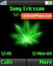 Green Weed v2 es el tema de pantalla