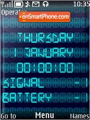 Digital Blue theme screenshot
